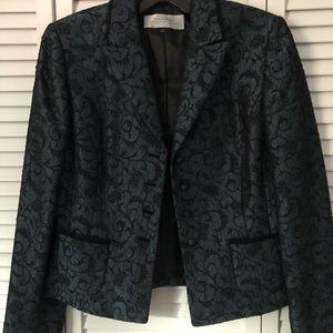 Dark Blue Tahari Formal Suit